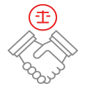Client-focused attorneys & staff icon